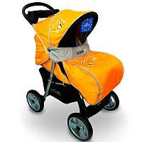 Детская прогулочная коляска книжка  Sigma K-038F-2