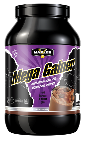 Гейнер Maxler Mega Gainer 4,5 kg