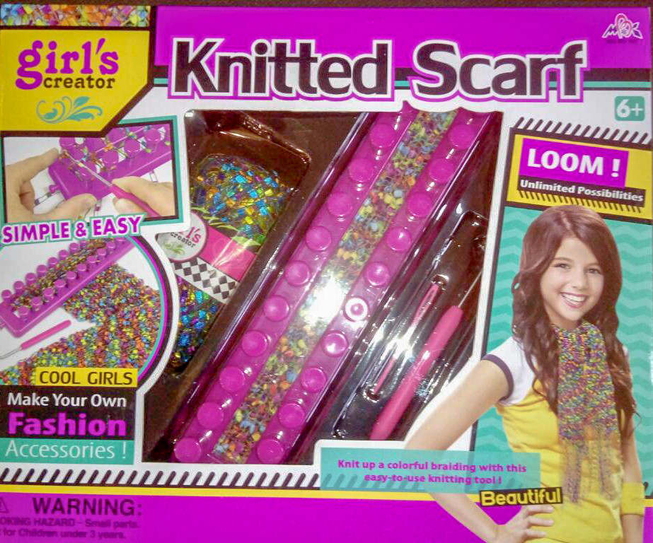 детский набор для вязания Knitting Studio Knitted Scarf