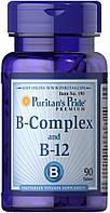 Puritan's Pride B-Complex and B-12 90 tabs Сроки до EXP 06/20