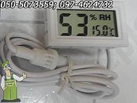 Гигрометр - термометр электронный цифровой с выносным датчиком, фото 1