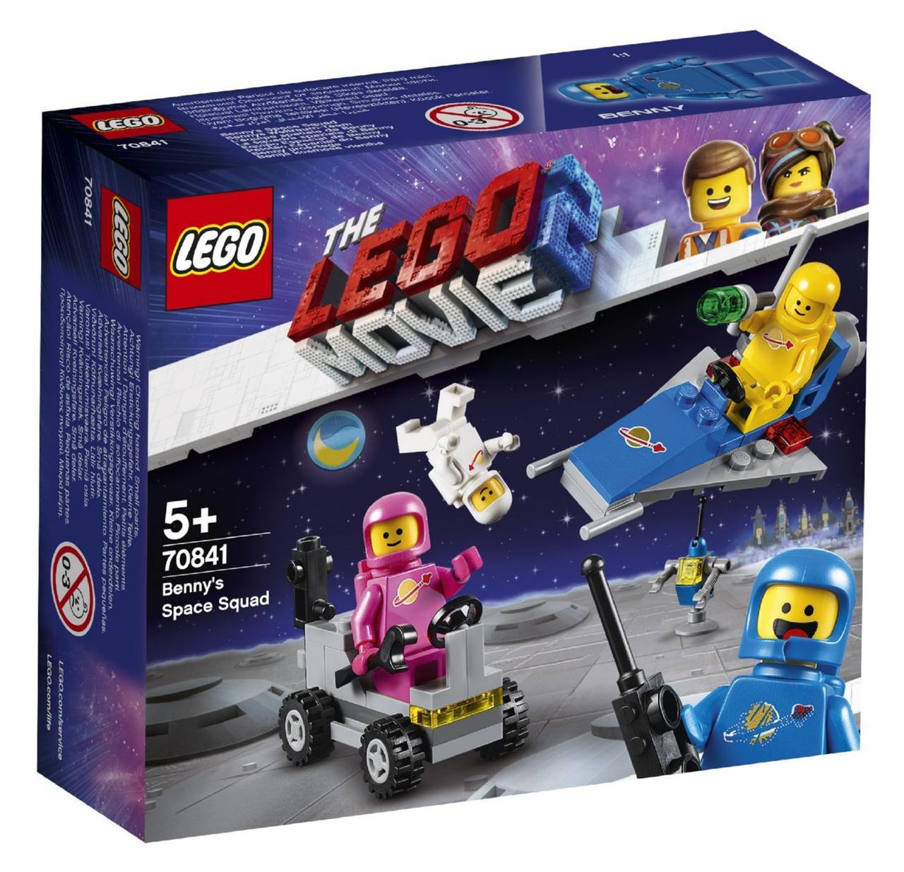 Lego Movie 2 Космічний загін Бенні 70841