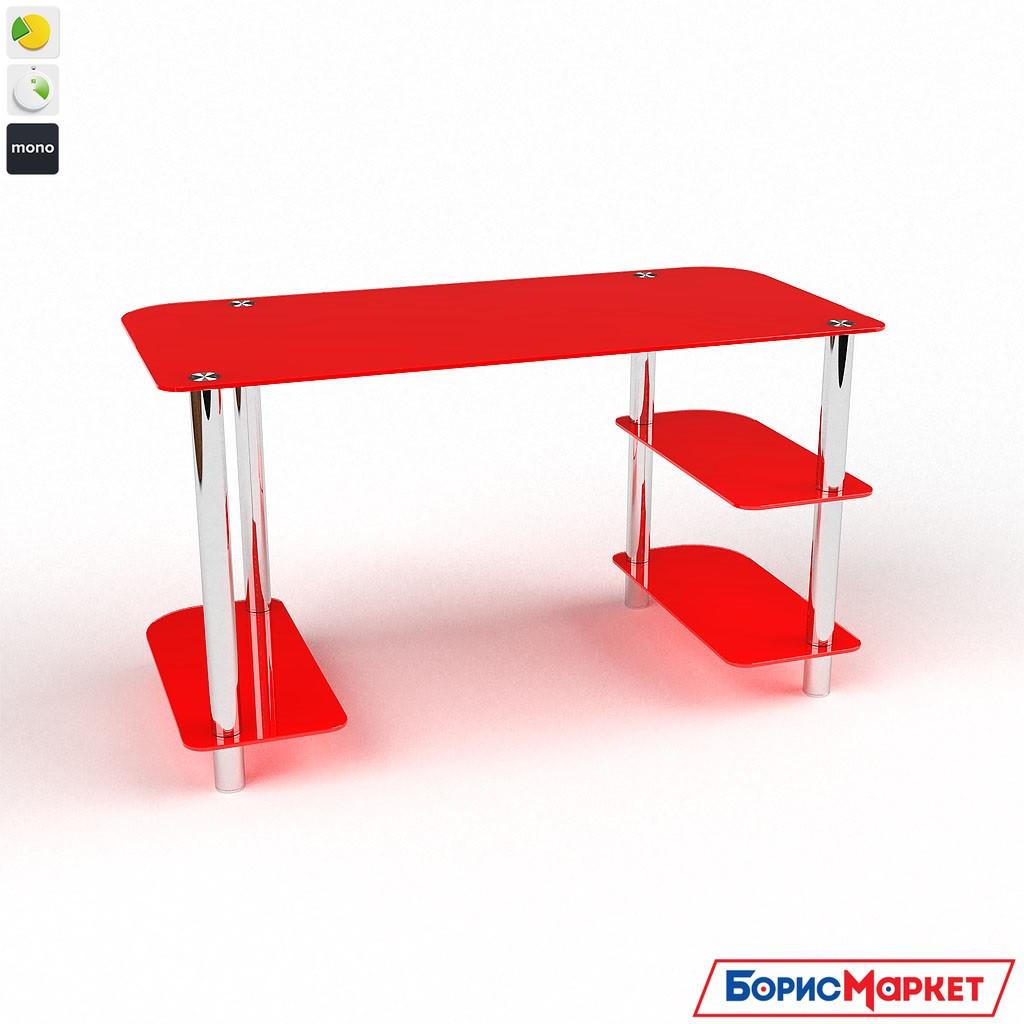 Компьютерный стол стекляный Альтаир от БЦ-Стол