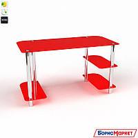 Компьютерный стол стекляный Альтаир от БЦ-Стол, фото 1