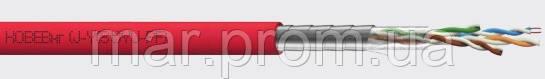 Кабель витая пара экранированный негорючий КОВЕВнг (J-Y(St)YU-PF) 1х2х0,5 мм