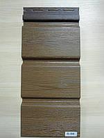 Софит Vox Вокс горіх без перфорації розмір 3,85 м х 0,30 см