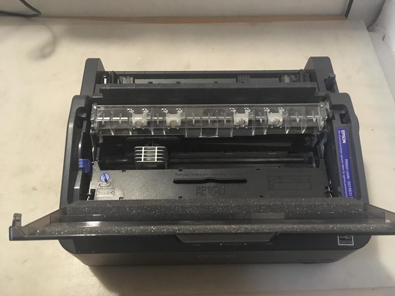 Принтер матричный EPSON LX-350 (USB, COM, LPT) под рулон