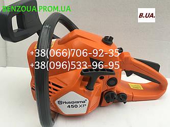 Бензопила Husqvarna 450 XP 3.9 кВт хускварна США гарантия 1 год Бензопилка, пила, пилка,