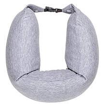 Xiaomi 8H Travel Neck Waist Pillow Natural Latex Particles U Shaped Soft Cushion (Gray)
