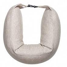 Xiaomi 8H Travel Neck Waist Pillow Natural Latex Particles U Shaped Soft Cushion (Cream)