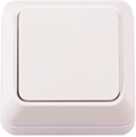 Выключатель наружной установки 1-кл. белий IP20 TNSy