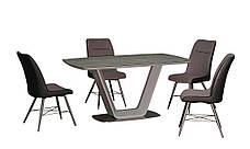 Стол обеденный нераскладной серого цвета  в современном стиле   Брайт  PRESTOL, фото 2