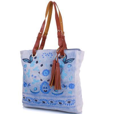 949904e05443 Сумка повседневная (шоппер) Amelie Galanti Женская сумка из качественного  кожезаменителя и ткани AMELIE GALANTI