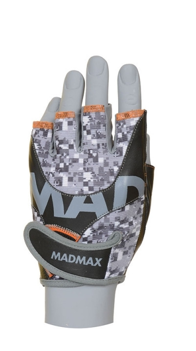 Перчатки Mad Max MTI83.1 Workout Gloves MFG-831 L size grey/orange