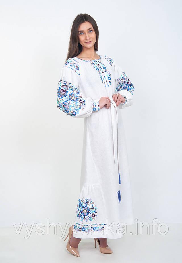 Плаття вишиванка в підлогу