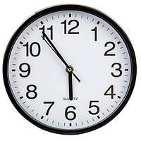Часы настенные кварцевые 23 см черный  N51111764