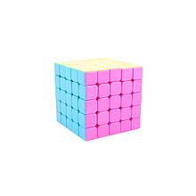 Кубик 5x5 YJ Yuchuang 5x5 pink stickerless (без наклеек)