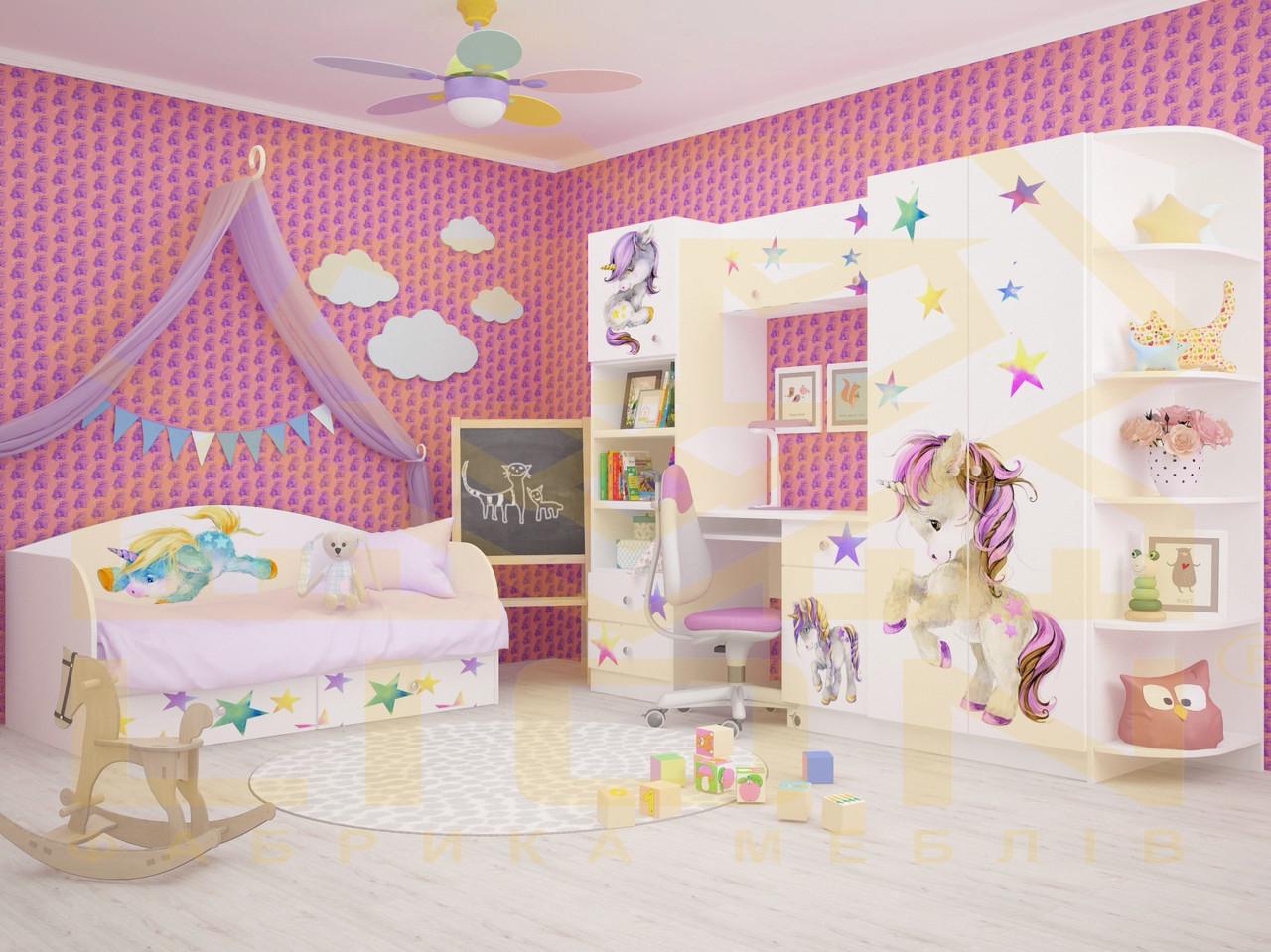 Комплект детской мебели в спальню