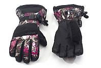 Перчатки Kombi 8181 PRODIGY WMN серые с розовым, размер L