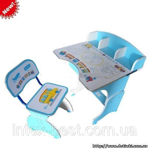 Регулируемая детская парта растишка со стульчиком Bambi HB-2876B-04