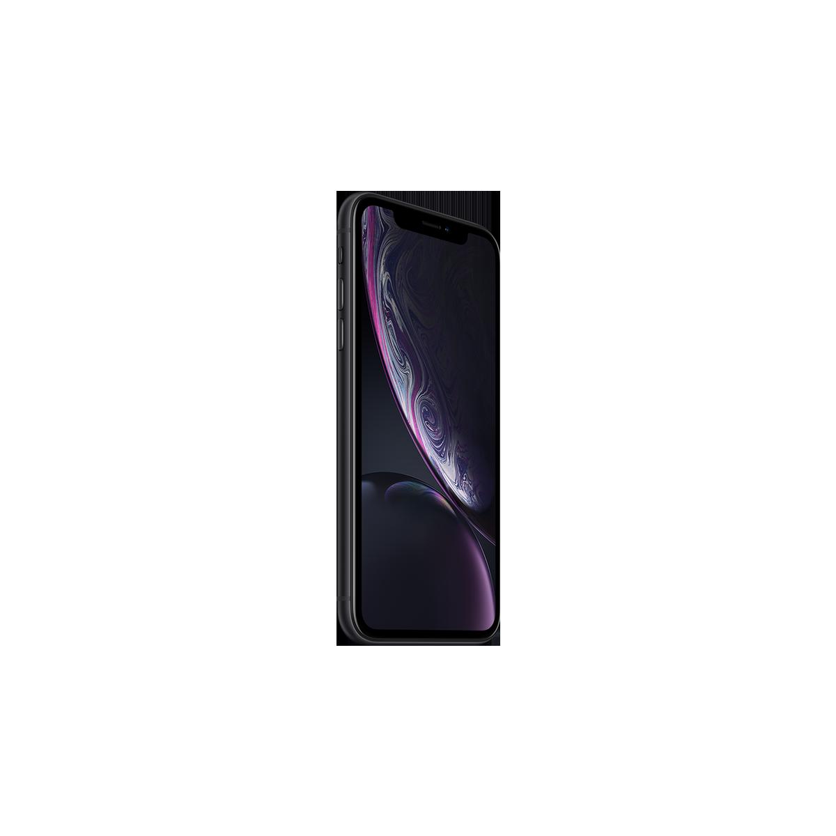 Apple iPhone XR Dual Sim 64 Гб (Черный) 12 месяцев гарантия