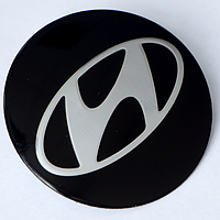 Наклейки авто диски HYUNDAI выгнутый