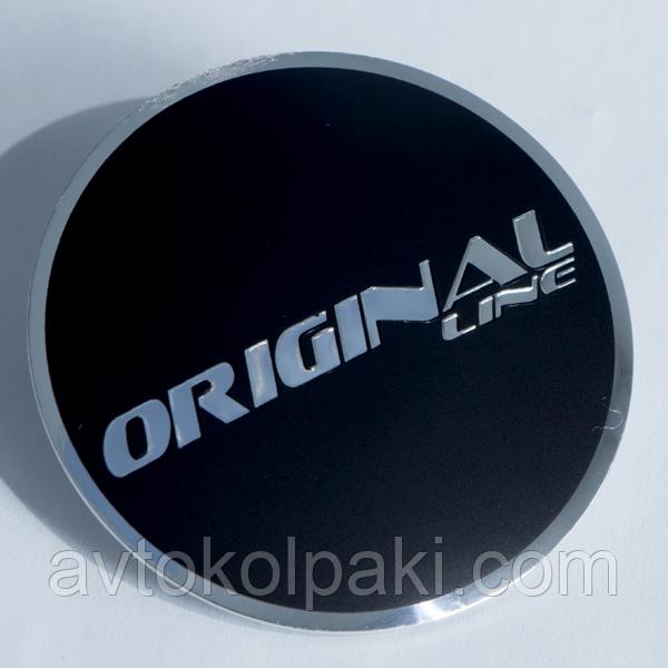 Наклейки авто диски Original Logo выгнутые