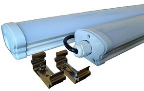 Светильник LED LPP40-1200-6500K-40W-220V-3600L-IP65 (ЛПП 2х36 LED лента) TNSy, ТНСи