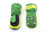 Перчатки Kombi ANIMAL FARM Bob the Frog зеленый размер S