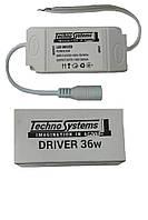Driver for PANEL 32-36W 220V (260mA 75-130V) (Драйвер для панели 32-36Вт) TNSy, ТНСи