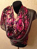 Очень широкий шарф 2790 (цв 6)
