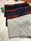 Подарочный комплект мужских трусов Emporio Armani M L XL хлопковые боксеры мужские трусы хлопок Армани реплика, фото 2
