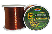 Леска Fishing ROI Carp Line 0.30mm 1000 m 9.90kg (brown)