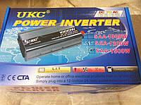 Преобразователь напряжения UKC Technology 1500W 12v/220v, автомобильный инвертор 1500Вт, фото 1
