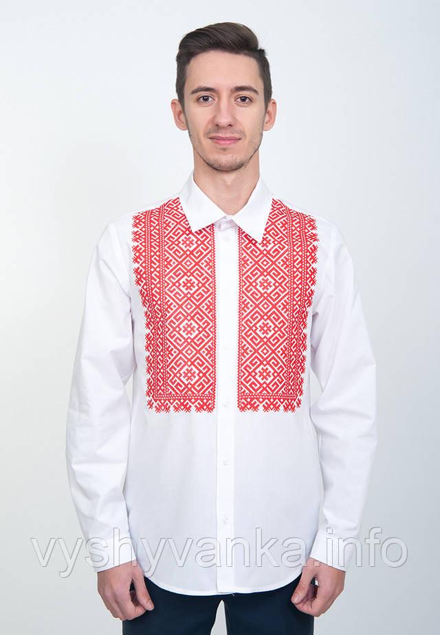 Купити чоловічу сорочку-вишиванку