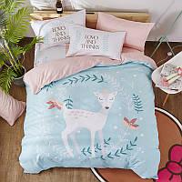 Комплект постельного белья Принцесса олененок (двуспальный-евро) Berni