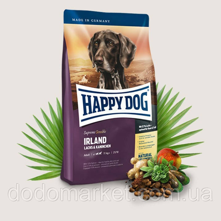 Сухий корм для собак Happy Dog Supreme Sensible Irland 12.5 кг
