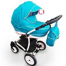 Детская коляска 2 в 1 AVALON Бирюзовый