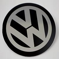 Наклейки на авто диски VW  плоские
