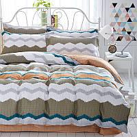 Комплект постельного белья Зигзаги (двуспальный-евро) Berni