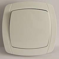 LXL BETA WHITE Выключатель белый