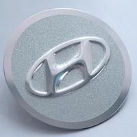 Наклейки на авто диски HYUNDAI плоские