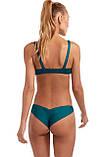 Купальник женский раздельный бикини цвет изумруд ( размер XS, S,M, L, XL), фото 2