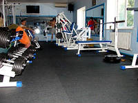 Резиновые плиты для фитнесс центров 12 мм