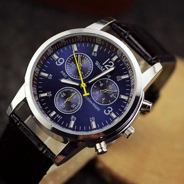 Годинники чоловічі WoMaGe PRC 200 BLU