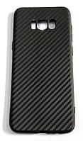 Чохол для Samsung Galaxy S8 Plus g955 силіконовий карбон