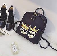 Модний міні-рюкзак з нашивками, фото 1