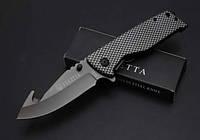 Складной полуавтоматический нож Beretta X23A стеклобой, титановое покрытие