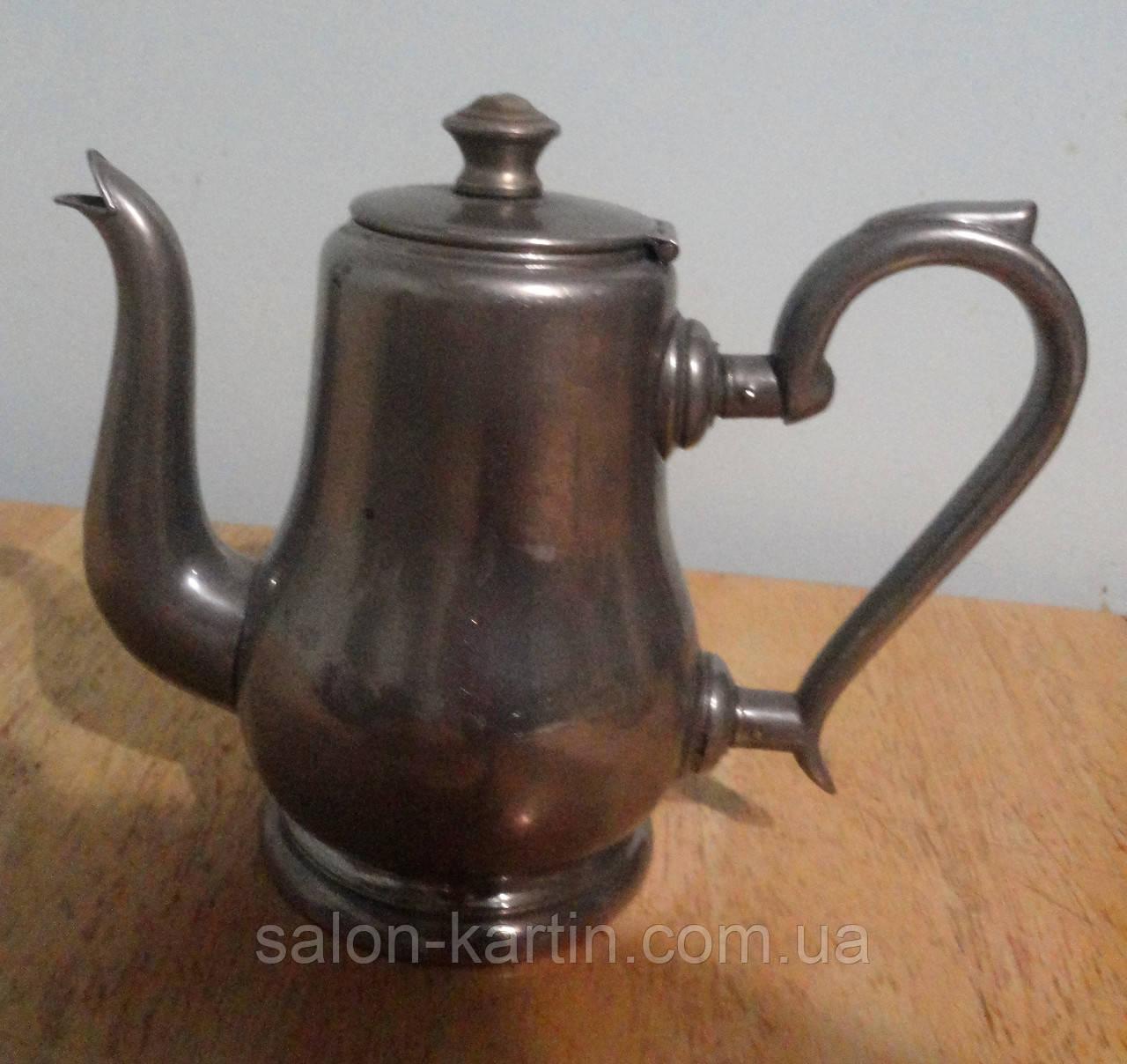 Антикварный чайник (заварник), клеймо, Германия