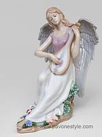 "Фарфоровая статуэтка ангел ""Волшебная Домра"" (Pavone)"